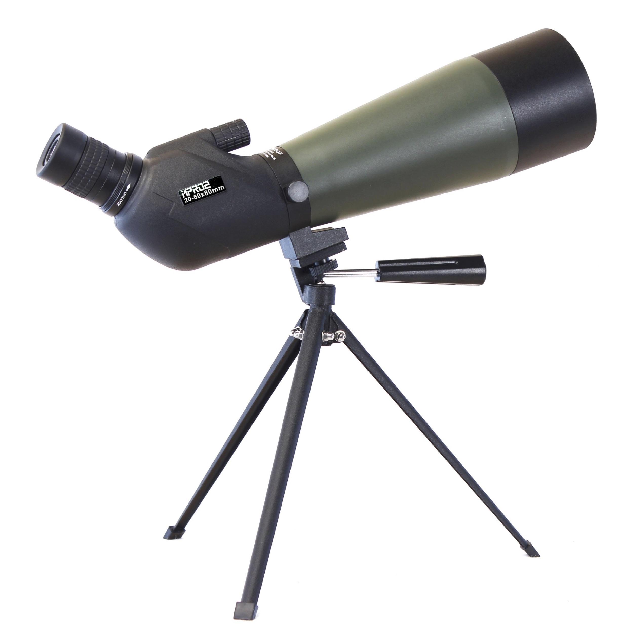 Longue-Vue TecTecTec MPRO2 Longue Vue 60x80 grossissement extrême - clarté extrême - avec trépied et sac de transport - zoom optique8